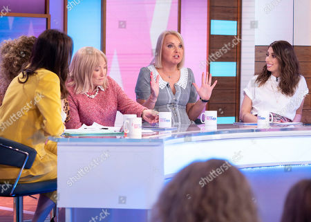 Andrea McLean, Nadia Sawalha, Kellie Maloney, India Willoughby, Stacey Solomon