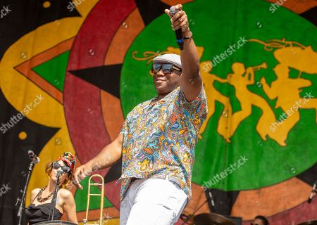Editorial photo of New Orleans Jazz and Heritage Festival, Day 5, New Orleans, USA - 02 May 2019