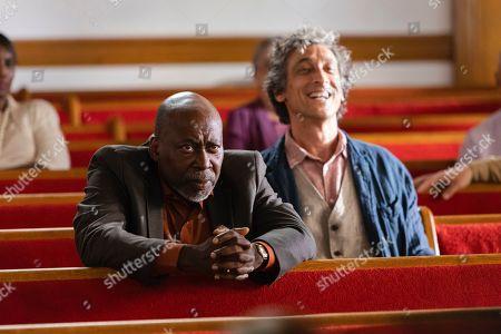Brent Jennings as Ernie Fontaine and David Pasquesi as Blaise St John