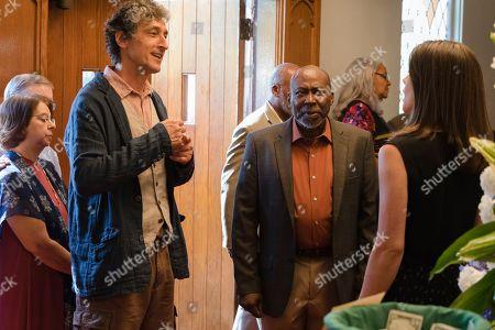 David Pasquesi as Blaise St John, Brent Jennings as Ernie Fontaine and Sonya Cassidy as Liz Dudley