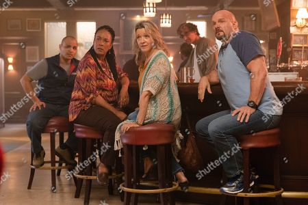 Jimmy Gonzales as Gil Sandoval, Avis-Marie Barnes as Anita Jones, Linda Emond as Connie Wright, David Pasquesi as Blaise St John and Eric Allen Kramer as Scott Wright