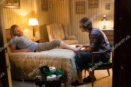 "Wyatt Russell as Sean ""Dud"" Dudley and David Pasquesi as Blaise St John"
