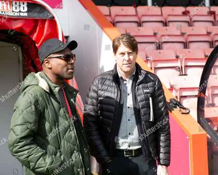 Stock Photo of Former AFC Bournemouth and Tottenham star Darren Anderton