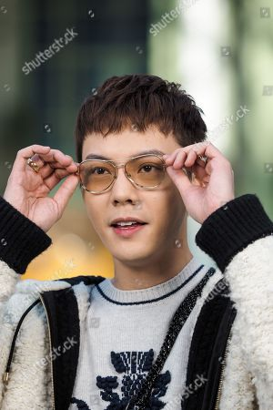 Stock Image of William Chan in the front row