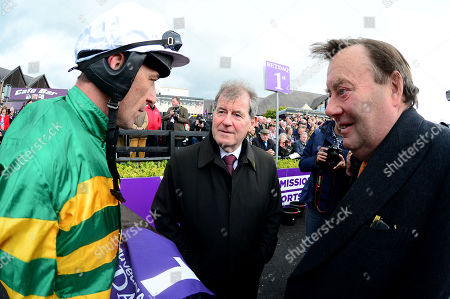 PUNCHESTOWN. The Betdaq Punchestown Champion Hurdle. BUVEUR D'AIR won for jockey Davy Russell, trainer Nicky Henderson and owner JP McMANUS.