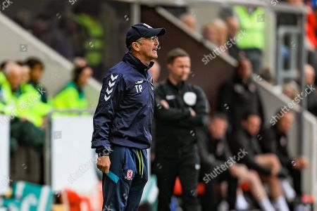 5th May 2019, New York Stadium, Rotherham, England; Sky Bet Championship Rotherham United vs Middlesbrough ; Tony Pulis manager of Middlesbrough  Credit: John Hobson/News Images English Football League images are subject to DataCo Licence