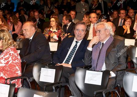 Pedro Piqueras, Angel Gabilondo and Luis del Olmo