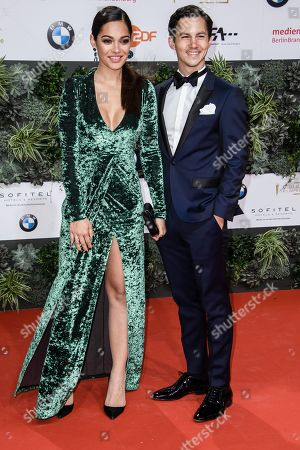 Nilam Farooq (L) and Tim Oliver Schultz attend the 69th German Film Awards 'LOLA' in Berlin, Germany, 03 May 2019. The most highly endowed cultural award in Germany is presented in 18 categories by the Deutsche Filmakademie (German film academy).