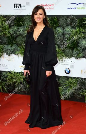 Natalia Avelon attends the red carpet for the 69th German Film Awards 'LOLA' in Berlin, Germany, 03 May 2019. The most highly endowed cultural award in Germany is presented in 18 categories by the Deutsche Filmakademie (German film academy).