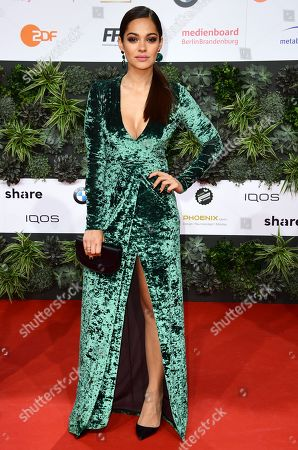 Nilam Farooq attends the 69th German Film Awards 'LOLA' in Berlin, Germany, 03 May 2019. The most highly endowed cultural award in Germany is presented in 18 categories by the Deutsche Filmakademie (German film academy).