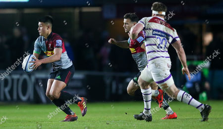 Editorial image of Harlequins v Leicester, Gallagher Premiership, Rugby Union, Twickenham Stoop, London, UK - 03 May 2019
