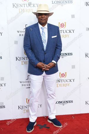 Editorial image of 145th Annual Kentucky Derby, Arrivals, Churchill Downs, Louisville, Kentucky, USA - 04 May 2019