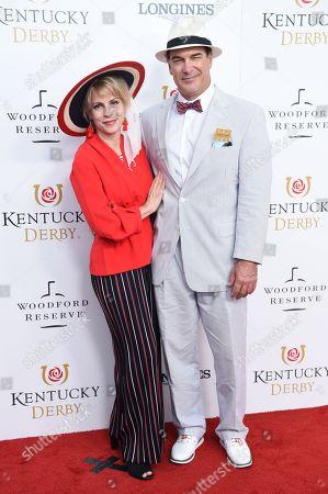 Stock Photo of Patrick Warburton and Cathy Warburton