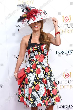 Editorial picture of 145th Annual Kentucky Derby, Arrivals, Churchill Downs, Louisville, Kentucky, USA - 04 May 2019