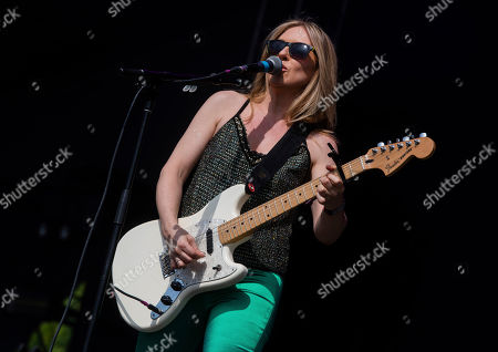 Liz Phair performs at the 2019 Shaky Knees Festival in Atlanta's Central Park on Friday, May, 3rd, 2019, in Atlanta