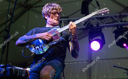 John Dwyer of The Oh Sees performs at the 2019 Shaky Knees Festival in Atlanta's Central Park on Friday, May, 3rd, 2019, in Atlanta