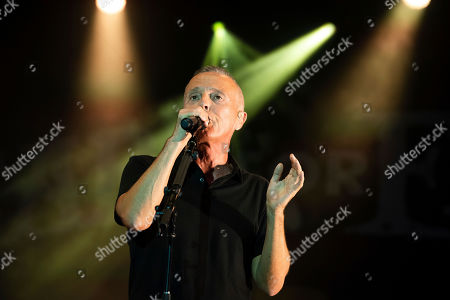 Curt Smith of Tears for Fears performs at the 2019 Shaky Knees Festival in Atlanta's Central Park on Friday, May, 3rd, 2019, in Atlanta