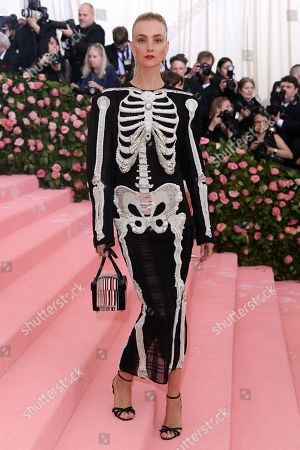 Editorial photo of Costume Institute Benefit celebrating the opening of Camp: Notes on Fashion, Arrivals, The Metropolitan Museum of Art, New York, USA - 06 May 2019