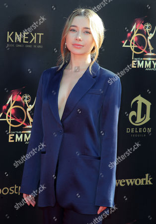 Editorial image of 46th Annual Daytime Creative Arts Emmy Awards, Arrivals, Pasadena Civic Center, Los Angeles, USA - 03 May 2019