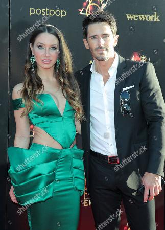 Celeste Fianna and Brandon Beemer