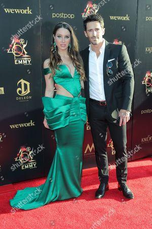 Stock Photo of Celeste Fianna and Brandon Beemer