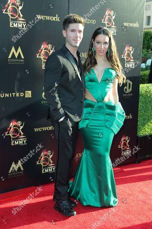 Kristos Andrews and Celeste Fianna