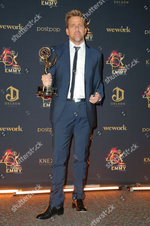 Editorial photo of 46th Annual Daytime Creative Arts Emmy Awards, Press Room, Pasadena Civic Center, Los Angeles, USA - 03 May 2019