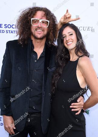 Redfoo and Jasmine Alkouri