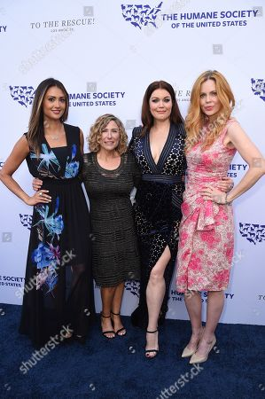 Katie Cleary, Kitty Block, Bellamy Young and Kristin Bauer van Straten