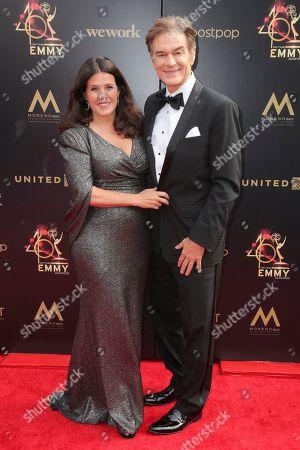 Lisa Oz and Dr. Dr Mehmet Oz