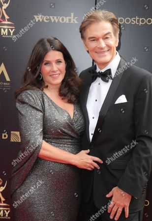 Stock Photo of Lisa Oz and Dr. Dr Mehmet Oz