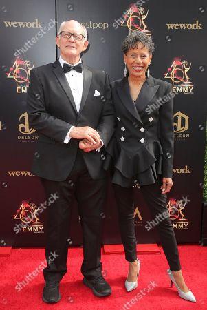 Max Gail and Vernee Watson
