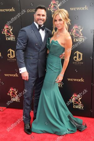 Don Diamont and Cindy Ambuehl