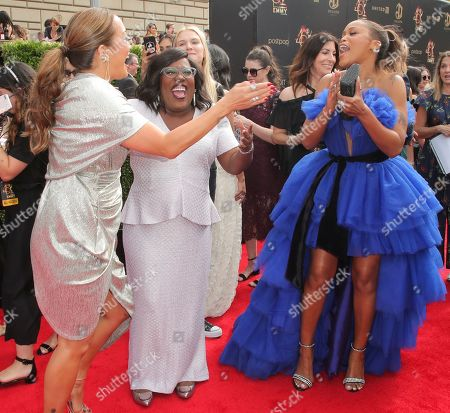 Carrie Ann Inaba, Sheryl Underwood and Eve