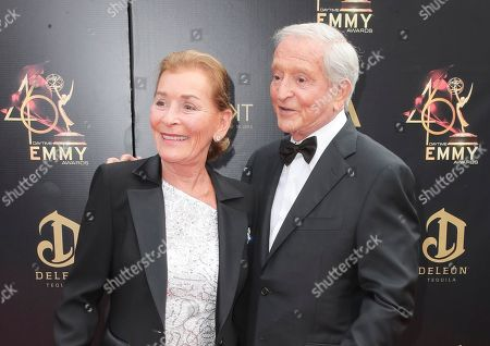Stock Picture of Judy Sheindlin and Jerry Sheindlin