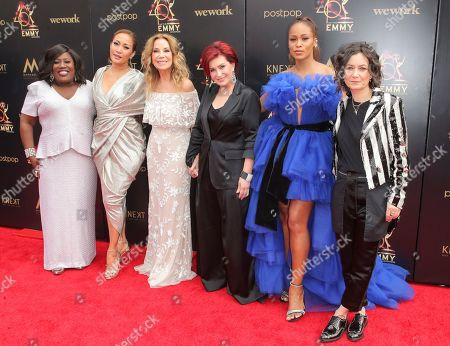 Loni Love, Carrie Ann Inaba, Kathie Lee Gifford, Sharon Osbourne, Eve and Sara Gilbert