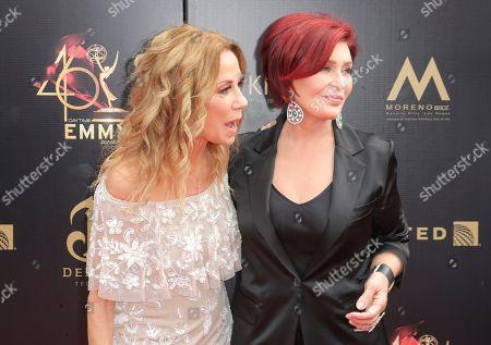 Kathie Lee Gifford and Sharon Osbourne