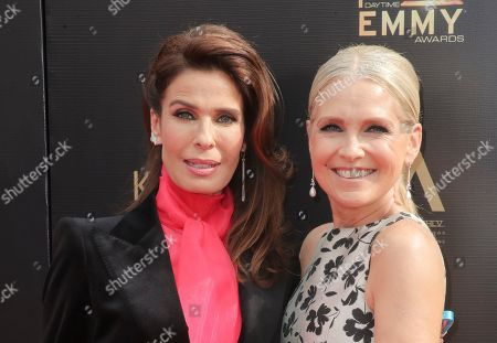 Kristian Alfonso and Melissa Reeves