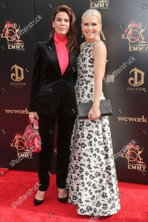 Stock Picture of Kristian Alfonso and Melissa Reeves