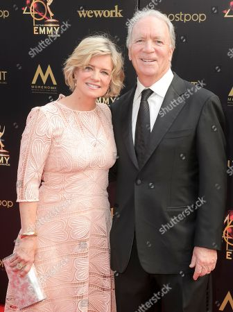 Mary Beth Evans and Ken Corday
