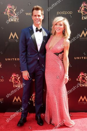 Cameron Mathison and Debbie Matenopoulos