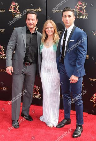 Tyler Christopher, Marci Miller and Billy Flynn