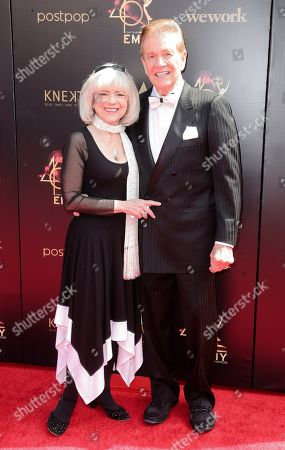 Sandy Ferra and Wink Martindale