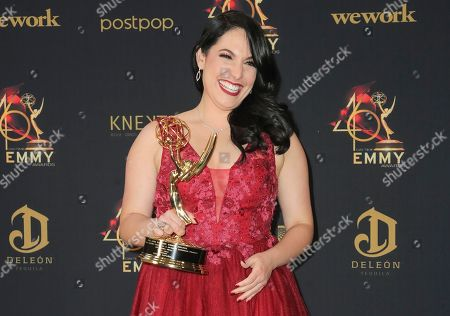 Editorial picture of 46th Annual Daytime Emmy Awards, Press Room, Pasadena Civic Auditorium, Los Angeles, USA - 05 May 2019