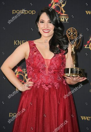 Stock Picture of Alejandra Oraa - Outstanding Daytime Talent in a Spanish Language Program - Destinos