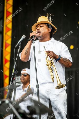 Editorial image of 2019 Jazz and Heritage Festival - Weekend 2 - Day 2, New Orleans, USA - 03 May 2019