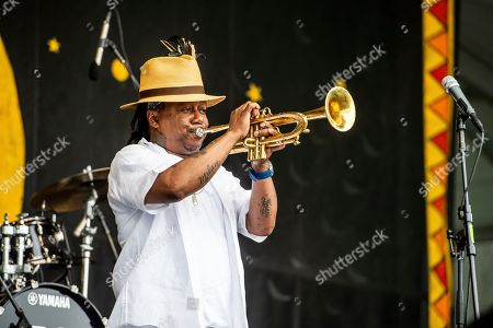 Editorial photo of 2019 Jazz and Heritage Festival - Weekend 2 - Day 2, New Orleans, USA - 03 May 2019