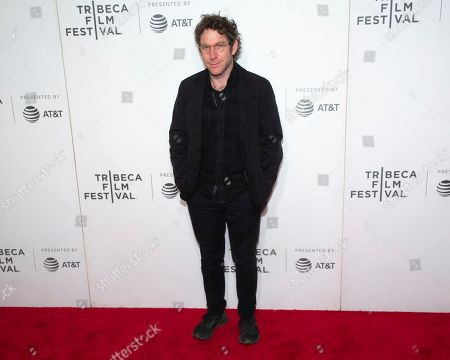 Dustin Yellin attends the 10th annual Tribeca Disruptive Innovation Awards at the Stella Artois Theater, in New York