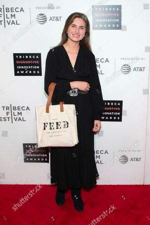 Lauren Bush Lauren attends the 10th annual Tribeca Disruptive Innovation Awards at the Stella Artois Theater, in New York