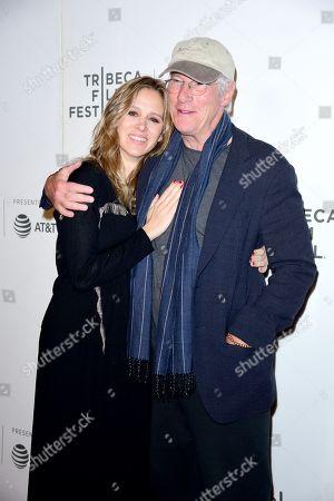 Alejandra Silva and Richard Gere